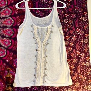 Nordstrom Threads 4 Thought beaded large tank
